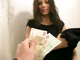 Money,Babe,Brunette,Hardcore,POV
