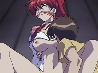 Hentai redhead brutally fucked