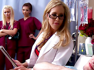 Doctor,Blonde,Big Boobs,Stockings,Doggystyle