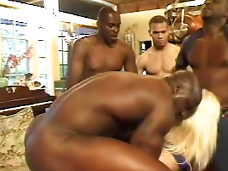 Gangbang,Interracial,Big Cock,Blonde,Group Sex,Hardcore,Anal