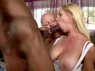 Interracial,Big Boobs,Big Cock,Blonde,Blowjob,Group Sex