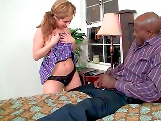 Daddy,Big Cock,Black and Ebony,Interracial,Lingerie