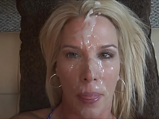 Facial,Close-up,Amateur,Cumshot,MILF