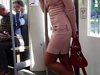 Dress,Hardcore,High Heels,Public Nudity,Voyeur,Extreme,Babe,Brunette