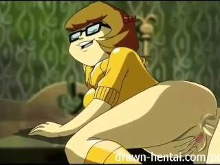 Scooby Doo Hentai - Velma likes it in the ass
