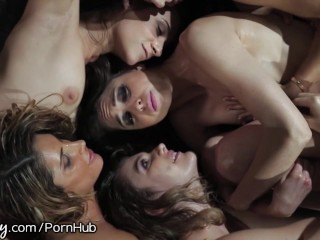 Brunette,Group Sex,Lesbian,Mature,MILF,Old and young,Petite,Pornstar,Redhead,Small Tits,Teen