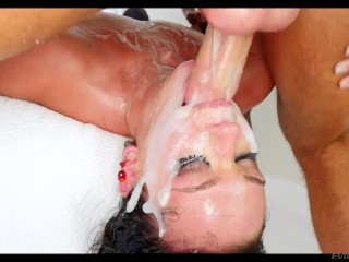 Big Cock,Pornstar,Gagging,Fetish,Brunette,Cumshot,Facial,Hardcore,Natural,Big Boobs,Blowjob