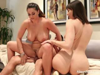 Big Ass,Pornstar,Threesome,Natural,Big Boobs,Big Cock,Blowjob,Brunette,Hardcore
