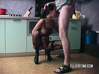 Extreme,Blowjob,Brunette,Fisting,Hardcore,Wife