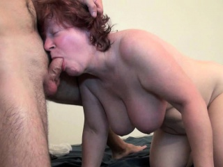 Grannies,Mature,BBW,Big Boobs,Big Cock,Blowjob,Brunette