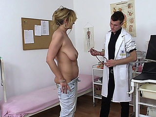 Doctor,Mature,Big Cock,Handjob,MILF,BBW,Big Boobs,Blowjob,Cumshot,Hairy