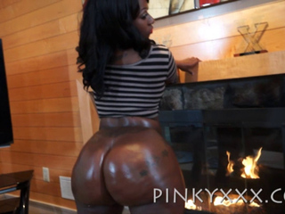Black and Ebony,POV,Big Ass,Big Boobs,Oiled