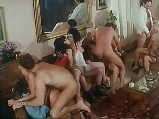 Double Penetration,Ass to Mouth,Vintage,Blowjob,Facial,Anal