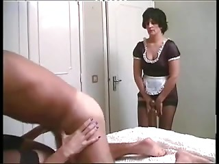 Maid,Femdom,Stockings,Hairy,Threesome,Vintage,Anal