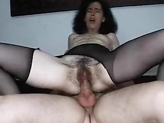 Hairy,Compilation,Stockings,Doggystyle