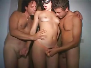 Double Penetration,Reality,Amateur,Masked,Group Sex,Brunette,Cumshot,Anal