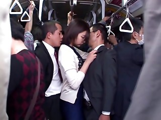 Asian,Bus,Big Cock,Gangbang,Group Sex,Hardcore,Housewife,Wife