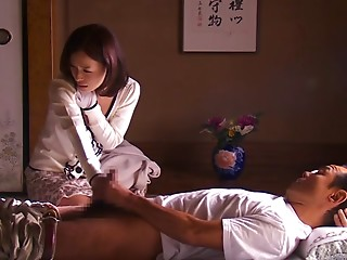 Horny Japanese chick Kaho Kasumi in Hottest wife JAV movie