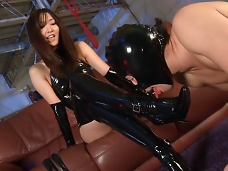 Panties,Asian,BDSM,Face Sitting,Femdom,Handjob,Latex
