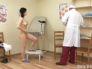 Russian,Doctor,Brunette,Hardcore,Reality,Natural,Couple