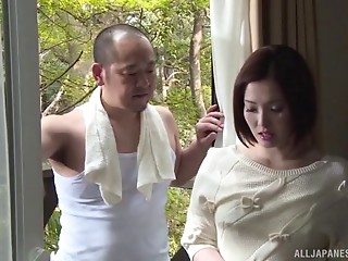 Sassy Yuuka gets her tight Asian cunt plowed really hard