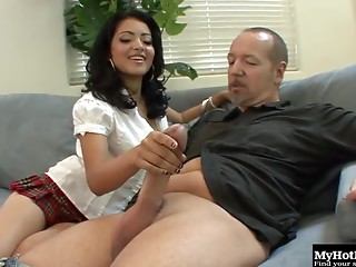 Handjob,Big Cock,Brunette,Hardcore,Couple,Big Ass