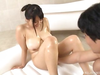 Oiled,Asian,Couple,Big Ass,Big Boobs,Chubby,Fingering,Hardcore,Natural