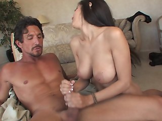 Handjob,Latina,Big Boobs,Brunette,Hardcore,Natural,Couple