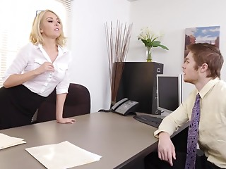 Blonde,Hardcore,MILF,Office,Reality,Couple