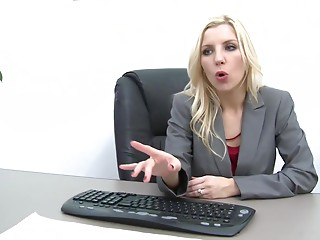 Secretary,Office,Blonde,Hardcore,Pornstar,Reality,Couple