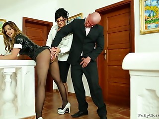 Pornstar,Pantyhose,Maid,Hardcore,High Heels,Latex,MILF,Nylon,Panties,Threesome,Uniform,Slut,Couple