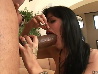 Latina,Big Cock,Black and Ebony,Blowjob,Brunette,Hardcore,Couple