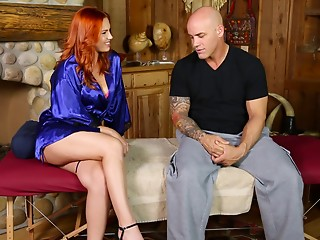 Massage,Pornstar,Reality,Redhead,Tattoo,Couple,Hardcore