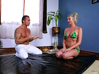 Massage,Big Ass,Big Boobs,Bikini,Blonde,Hardcore,MILF,Pornstar,Couple
