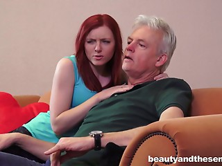 Daddy,Grannies,Hardcore,Mature,Old and young,Redhead,Teen,Couple