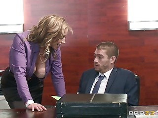 Secretary,Office,Big Boobs,Blonde,Blowjob,Hardcore,MILF,Pornstar,Reality,Couple