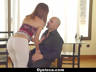 Latina Seduced and Fucked by Horny Teacher