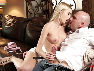 Blonde,Babe,Handjob,Hardcore,Couple
