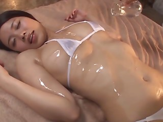 Massage,Asian,Hardcore,Oiled,Natural,Couple