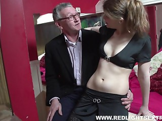 Old and young,Cumshot,Hardcore,Mature,MILF,Couple