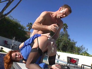 Outdoor,Pornstar,Ass licking,Couple,Anal,Big Boobs,Fisting,Hardcore,MILF,Redhead