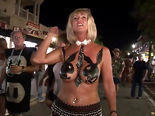 Fake,Big Boobs,Flashing,Outdoor,Party,Public Nudity,Reality