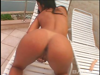 Wet,Masturbation,Anal,Brunette,Outdoor,Sex Toys,Solo