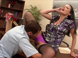 Office,Brunette,Hardcore,Reality,Wet,Couple