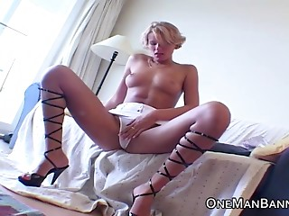 Blonde,High Heels,Natural,Anal,Hardcore