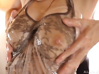 Wet,Oiled,Amateur,Asian,Big Boobs,Close-up,Hardcore,Natural