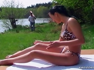 Anal,Couple,Brunette,Reality,Hardcore,Outdoor