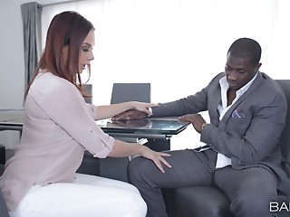 Office,Interracial,Reality,Black and Ebony,Pornstar,Secretary,Hardcore,Couple