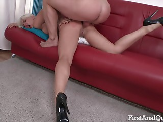 High Heels,Pornstar,Couple,Blonde,Hardcore,Anal