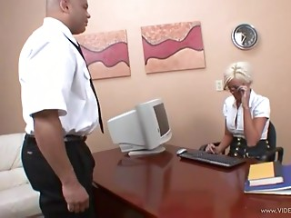 Blonde,Hardcore,Interracial,MILF,Office,Pornstar,Reality,Couple
